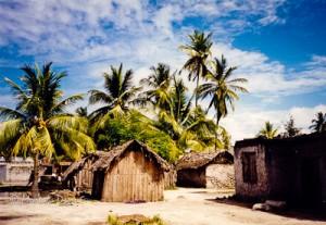 Jambiani Village in Zanzibar, Tanzania