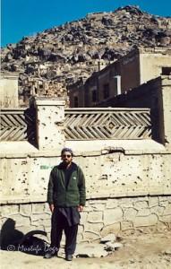 Kabul bullet holes
