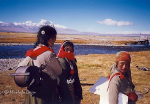 Backpacking in Tibet
